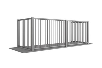 Buckingham 3-Sided Aluminium Balcony From MultiBal