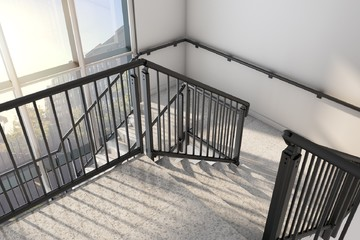 Aluminium Stairwell Balustrades From MultiBal