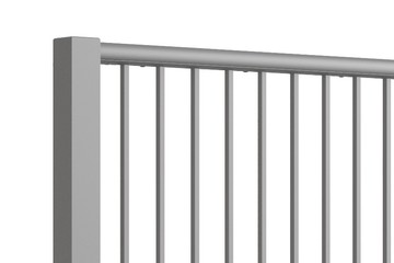 Close up of Straight-Run balustrade from MultiBal