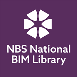 NBS National BIM Library Endorsement Stamp Purple 256
