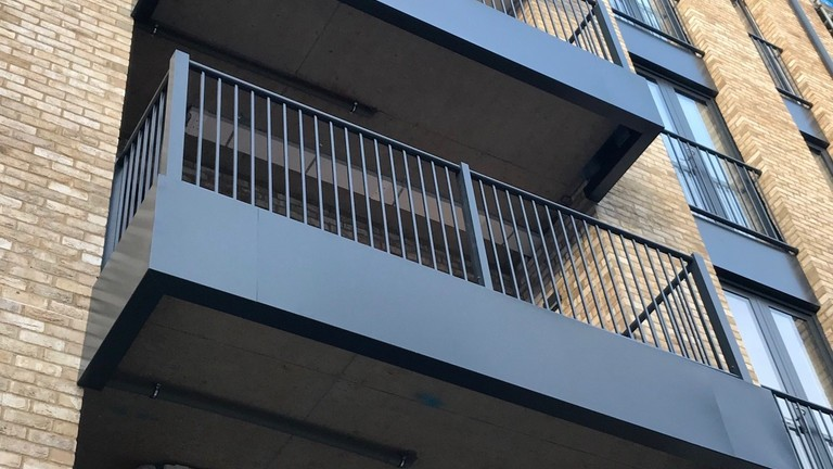 MultiBal Aluminium Balconies For Church To Residential Conversion